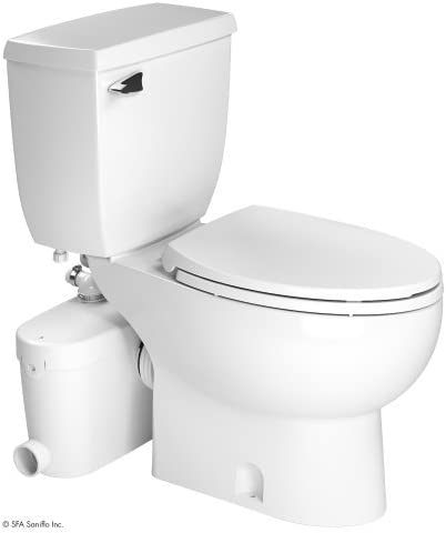 Saniflo SaniAccess3 Macerator Pump with Elongated Toilet
