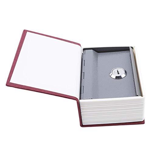 [해외]1st? market 고품질 미니 사전 저금통 보안 안전 잠금 돈 동전 수납 쥬얼리 키 로커 용 키즈 giftred / 1st?market High Quality Mini Dictionary Piggy Bank Security Safe Lock Money Money Coin Storage Jewelry Key Locker kid giftred