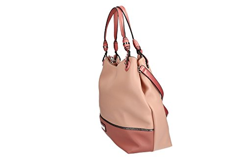 Tasche ffnung zip Schultergurt damen VN1256 CARDIN mit pink schulter PIERRE 66qRrw