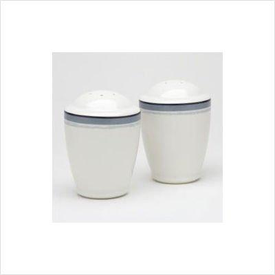 Noritake Java Graphite Salt & Pepper Shakers