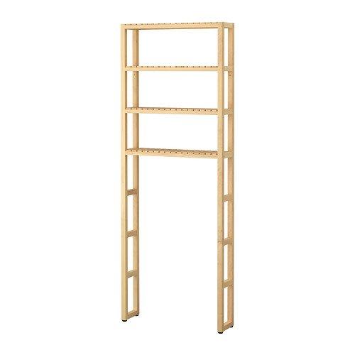 IKEA MOLGER - almacenamiento abierto, abedul - 68x18x182 cm ...