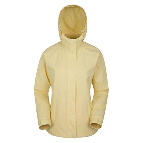 Mountain Warehouse Veste Torrent pour femmes - Imperméable, manteau léger, coutures entièrement soudées, veste pour femmes à 2 poches zippées - Parfaite pour les voyages, le camping