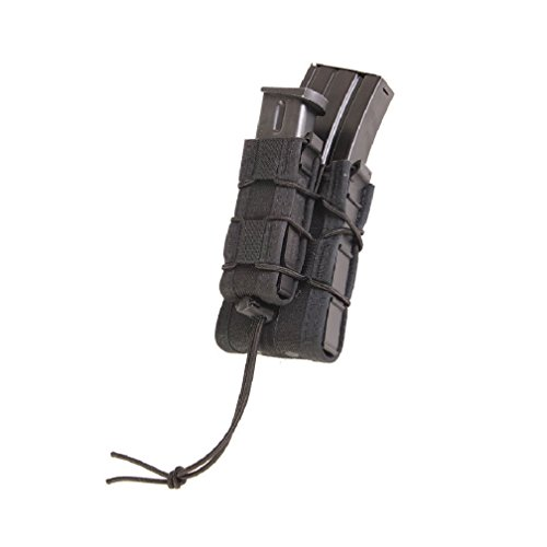 High Speed Gear Double Decker Taco Rifle & Pistol Mag Pouch, Molle, Color Black