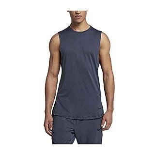 Nike Men's Dri-Fit Utility Training Tank-Thunder Blue-Small