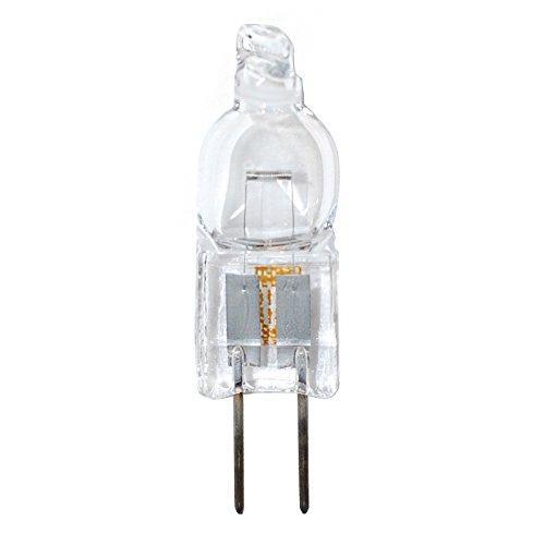 Osram Sylvania 64415 10 Watt 140 Lumens T10 Halogen G4 Base 12 Volt Clear Light Bulb