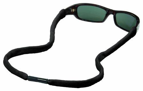 Chums Safety 13002 Cotton Eyewear Retainer with Reconnecting Single Breakaway, Black (Pack of - Breakaway Eyeglasses