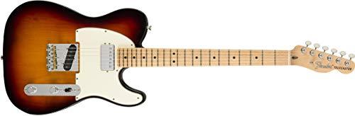 (Fender American Performer Telecaster Hum - 3-tone Sunburst w/Maple Fingerboard)