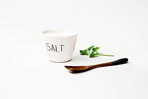 Salero de cerámica para cocina o mesa, Salero de tamaño medio sin ...