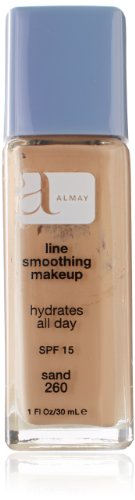[Almay Line Smoothing Liquid Makeup, Sand, 1 Fluid Ounce] (Line Smoothing Liquid Makeup Foundation)