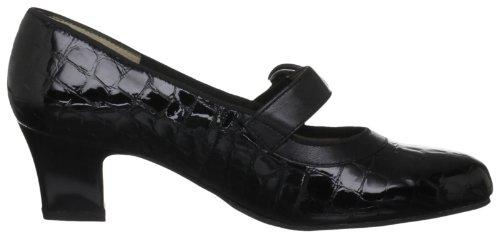 Padders Maxine - Zapatos de tacón de cuero mujer negro - Black Patent