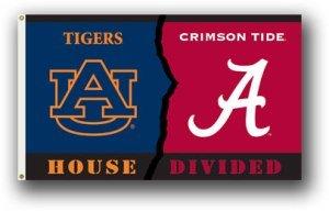 NCAA Flag NCAA: Alabama Auburn House