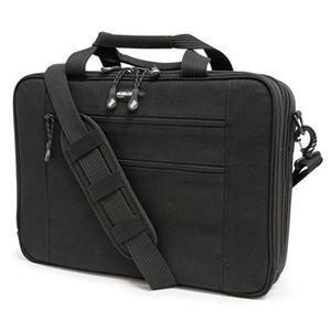 "Mobile Edge MECBC1 Canvas ECO Briefcase 16"" Black"
