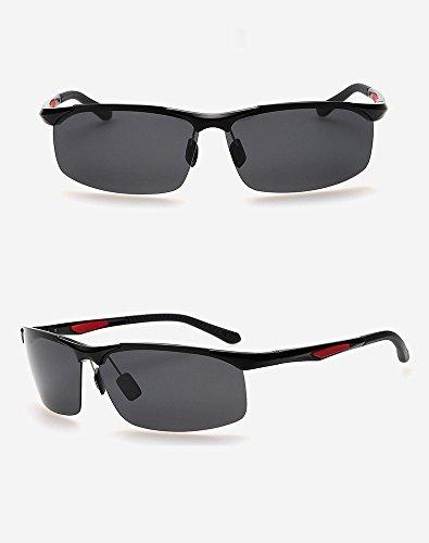 0d108e7e84 Ronsou Men s Sport Aluminium-Magnesium Polarized Sunglasses For Driving  Cycling Fishing Golf Glasses