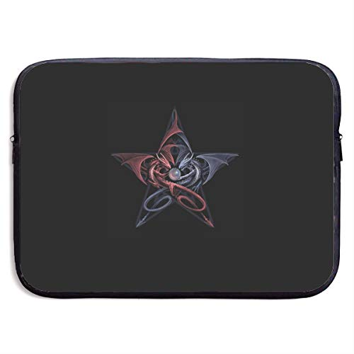 Homlife Laptop Sleeve Bag Abstract Owl Five-Pointed Star 13/15 Inch Briefcase Sleeve Bags Cover Notebook Case Waterproof Portable Messenger Bags Beatles Rubber Soul Skin