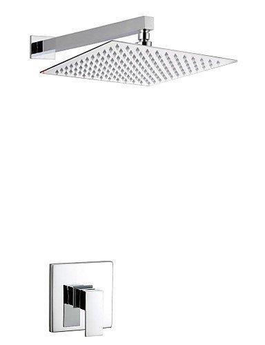 Ling@ Shower Tap Shower Faucet Contemporary Rain Shower Brass Chrome price