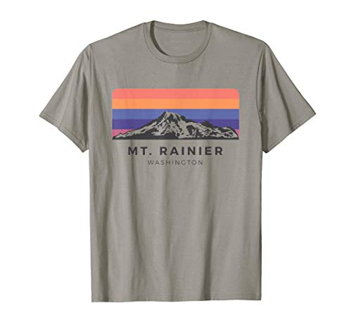 Vintage Mt Rainier T Shirt - Sunrise Edition