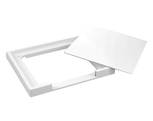 Leviton 47617-HPC High Profile Cover For Recessed Entertainment Box