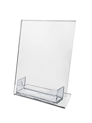display with business card holder - 8