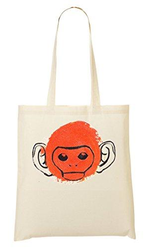 Red Monkey Bolso De Mano Bolsa De La Compra