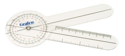 Grafco Pocket Goniometer with 360 Degree Protractor Head