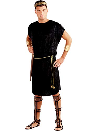 Forum Men's Black Tunic Costume,Black,Standard