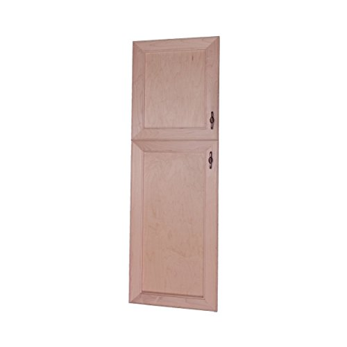 Wood Cabinets Direct MAX-BCH-246-2DRP-18/28 Maxwell Recessed Two Door Frameless 18/28 Pantry Cabinet, 46'' by Wood Cabinets Direct (Image #1)