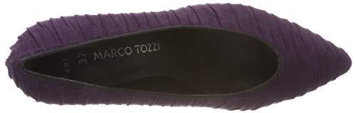 Donna 31 Tacco Viola Marco 22444 Con Comb Scarpe purple 515 Tozzi FCfx11qwY