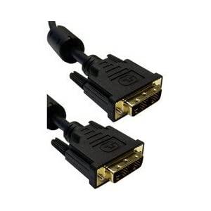 ElectroExperts DVI-D / DVI-D Single Link Cable with Ferrite, 2 meter (6.6 foot)