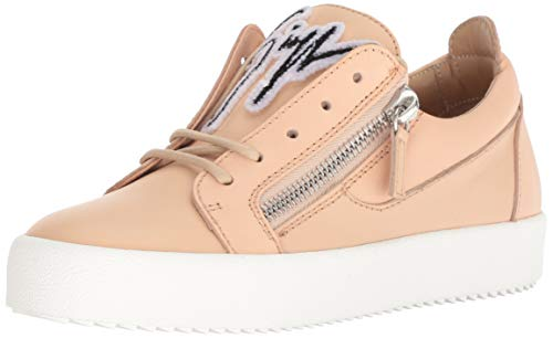 Used, Giuseppe Zanotti Women's RW80072 Sneaker, Shell, 7.5 for sale  Delivered anywhere in USA