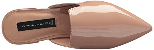 STEVEN von Steve Madden Damen Valent Slip-On Loafer Nacktes Patent