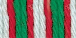 Bulk Buy: Lily Sugar'n Cream Yarn Ombres (6-Pack) Christmas Mistletoe 102002-138