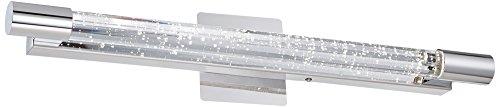 Possini Euro Claude 24 1/2''W Crystal Linear LED Wall Sconce by Possini Euro Design