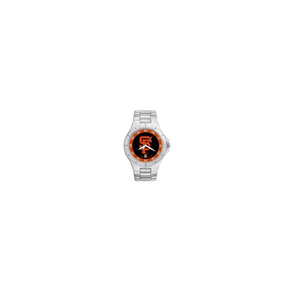 San Francisco Giants Mens Pro Ii Sterling Silver Bracelet Watch