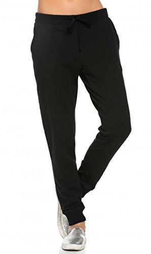 Classic Black Drawstring Pants - 3
