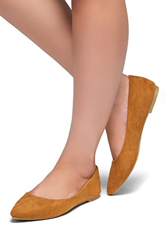 Chaussures À Talon Pointu Casuals De La Marque Herstyle Gemma Womens. Chaussure De Marche Décontractée Cognac