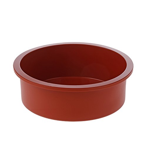 - Silikomart SFT180/C 7-Inch Silicone Classic Collection Cake Pan, Deep Round