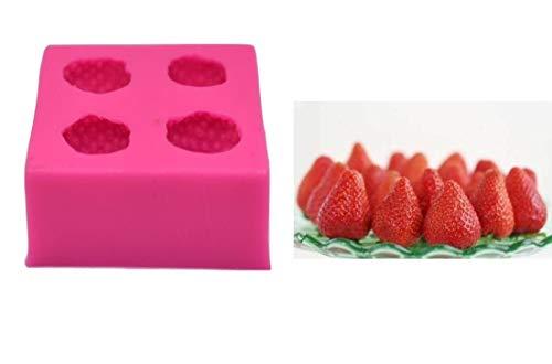 Strawberry Mold - 3D Strawberry Silicone Mold Fondant Cake Mold Chocolate Mold Cake Decoration