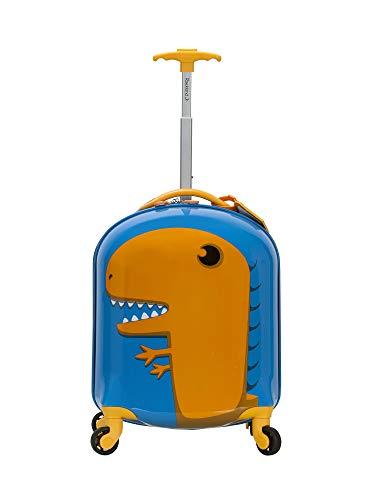 Rockland Jr. Kids' My First Luggage-Polycarbonate Hard Side Spinner, DINOSAUR