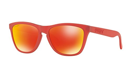 Oakley Frogskins Sunglasses IR Red with Prizm Ruby Lens + - Red Frogskins Oakley