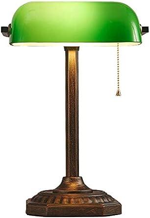 Lámpara de banco de cobre antiguo americano Accesorios de cine y ...
