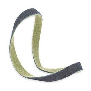Sanding Belt, 3/4Wx18 L, NonWoven, AO, VFN