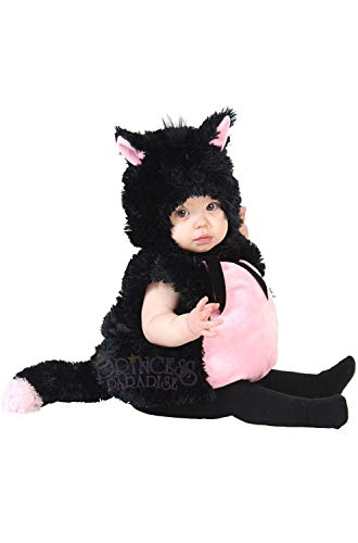 Princess Paradise Baby Black & Pink Kitty, Black 12 to 18 Months -