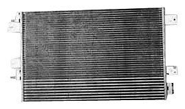 A/c Condenser Chrysler (TYC 3586 Dodge/Chrysler Parallel Flow Replacement Condenser)