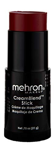 Mehron Makeup CreamBlend Stick (.75 oz) (RED) -