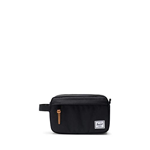 (Herschel Men's Chapter Travel Kit Bag-Black)