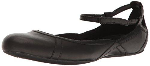 Merrell Womens Ember Bluff Strap Flat Shoes Black