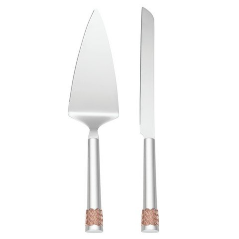 Lenox Aegean Rose Knife Server product image