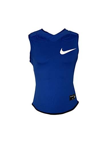 Nike Men's Vapor Speed Pro Sleeveless Football Top Dri-Fit Training Tank Top (Medium, Royal Blue/White)