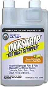 Rust Remover Oxystrip Remove Rust From Metal (Super Concentrate)