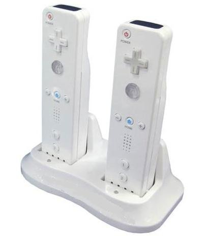 Pricelines Nintendo Wii Dual Charging Dock  Come With Two Rechargable Batteries Ni Mh  And Modified Battery Covers
